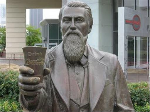 Coca-Cola-Inventor-John-Pemberton-Statue